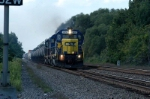 csx slips in a general frieght once and a while