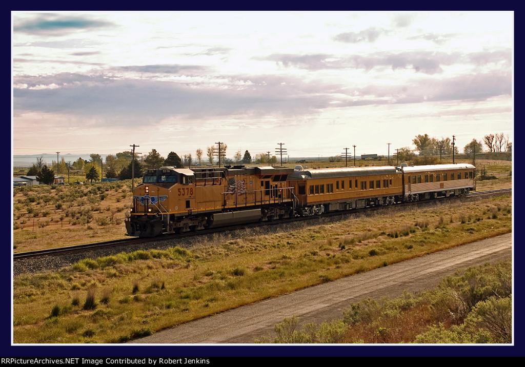 UP Business Train at Bliss, Idaho