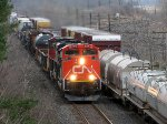 CN 330 meeting its counterpart 331 at Mile 5.8 Strathroy Sub.