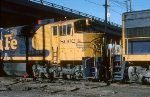 Santa Fe U30CG #8002 at Denver
