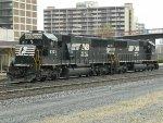NS EMD SD40E's 6324 & 6303
