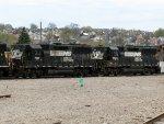 NS EMD GP50's 7028 & 7024