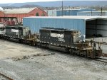 NS EMD SD40-2's 6078 & 6120