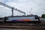 NJT 4618 Changing Pantographs