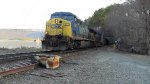 CSX Q410 Emerging From the Tunnel