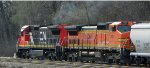 CN 2129 and CN 2137 exBNSF