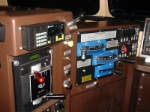 Overall view of engineer's controls, ES44DC # 5220