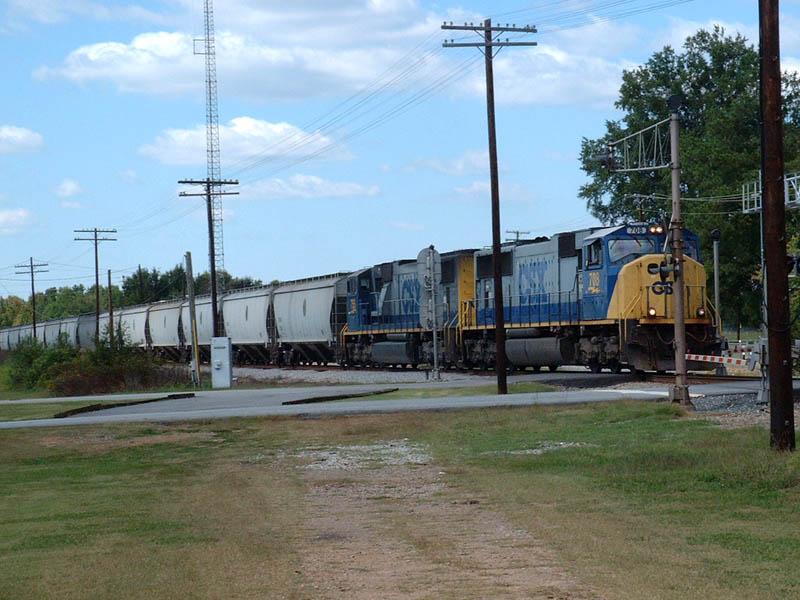 CSX Train G108