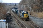 CSX K40817 at Little Falls NY CP-215 12-17-2011