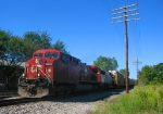 CP Rail X534 heads east