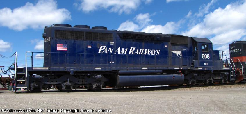 ROSTER SHOT: Pan Am/MEC #608