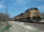 UP 5590 eastbound UP loaded coal train