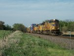 UP 5154 westbound UP intermodal train