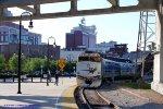 Music City Star 122 at Nashville Riverfront Station