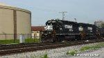 NS 7108 Westbound
