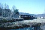 Southern 5218 leaving Sylva, NC
