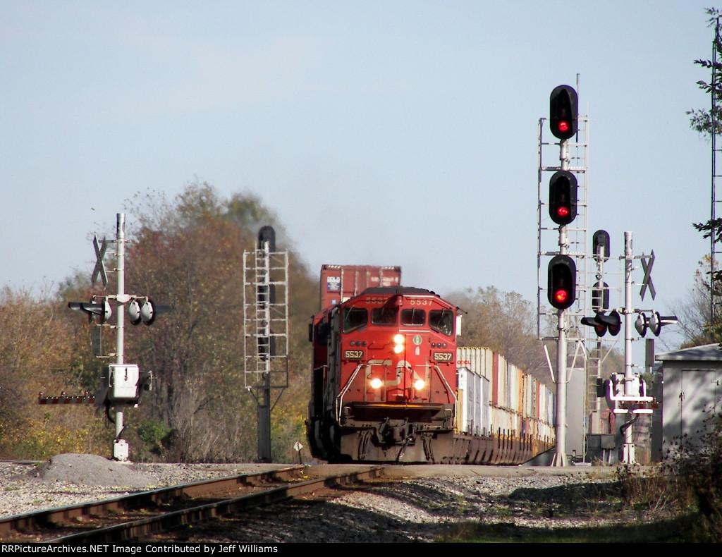 Westbound CN