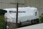 Tarped BNSF 8149