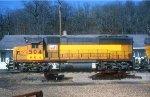 M&NA GP40 504