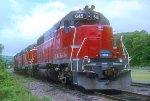 M&NA GP40 645