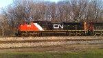 CN 8821 Eastbound