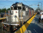 NJT 4141 at Aberdeen-Matawan Station on the NJCL
