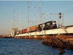 Freight Train on NJCL Drawbridge