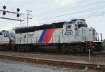 Train engineer drives GP40PH-2B on the NJCL