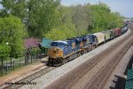Blue Locomotives and Pink Red Buds