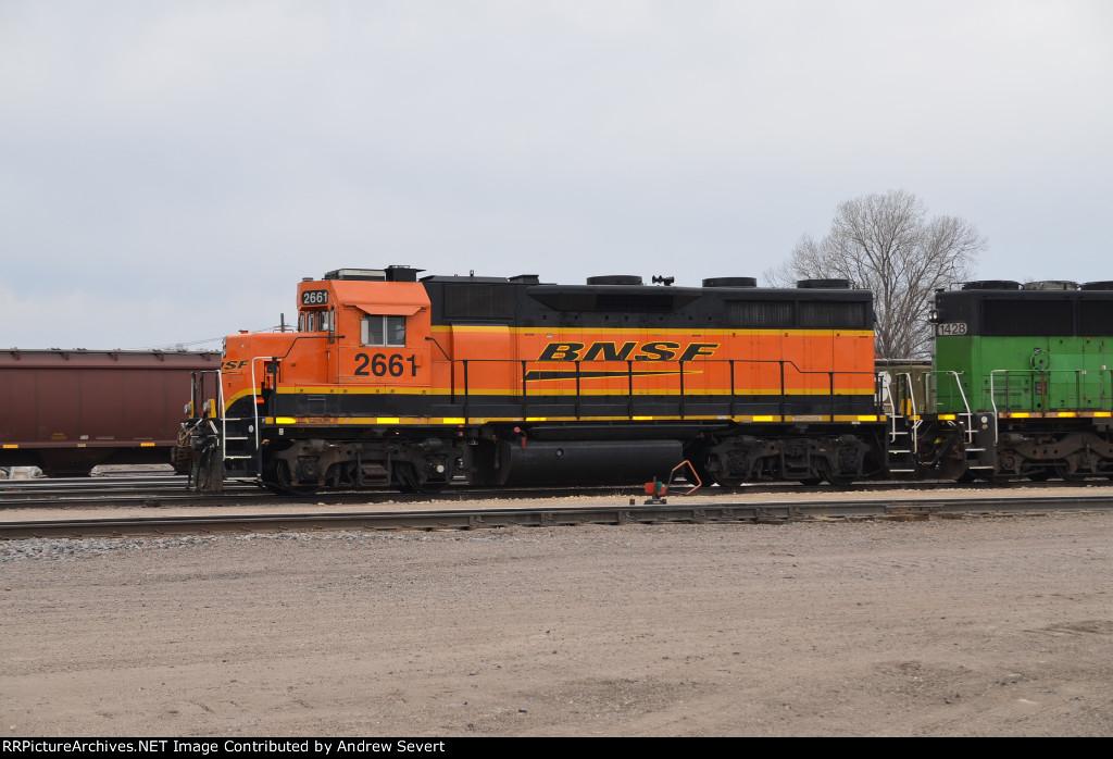BNSF GP39-3 #2661