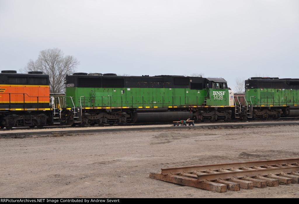BNSF SD60M #1428