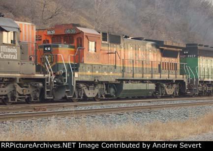 BNSF B40-8 8639