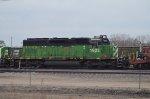 BNSF SD40-2 #1922