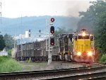 Ex Union Pacific SD60 on 15T