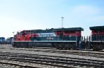 FXE ES44AC recently repaired at Guadalajara yard