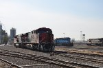 FXE Locos at Guadalajara yard