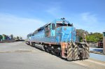 FXE SD40's ex-FNM in blue scheme