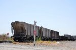 ITLX Covered Hoppers in Hermosillo yard
