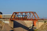 FXE C30-S7N crossing Hermosillo's Dam bridge