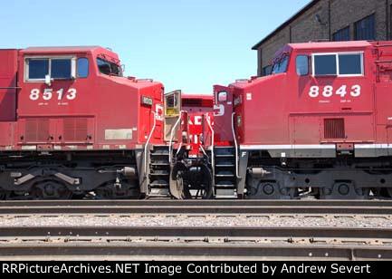 CP ES44AC 8843