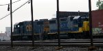 CSX GeePs Switching Frontier Yard