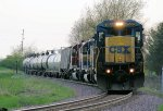 Eastbound CSX Loaded Ethanol Passing MP 18