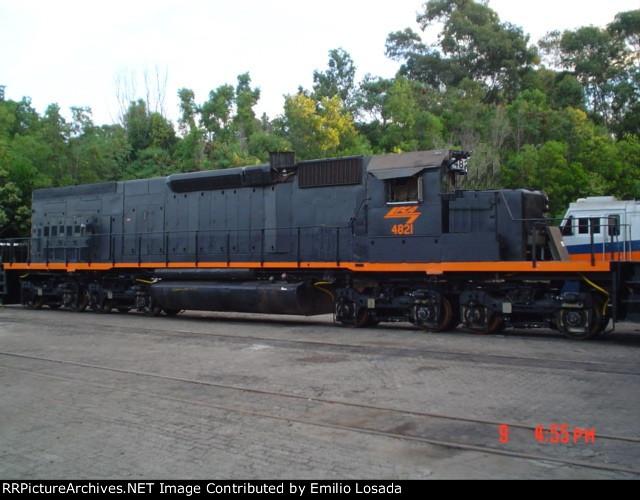SD40-2T  4821 (Ex 5406)
