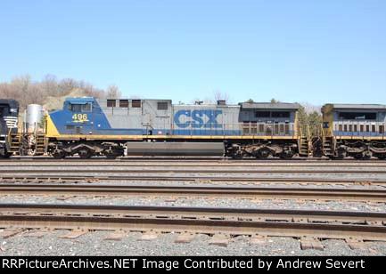 CSX AC4400CW 496