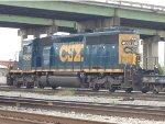 CSX SD40-3 #4032