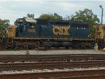 CSX SD40-2 #8408