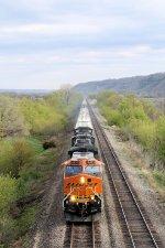 Eastbound BNSF Freight