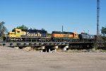 BNSF 1802 & BNSF 2292 Working The Yard