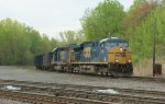 CSX 5540 & 8317 lead Q471 @ CP-SK at Selkirk, NY