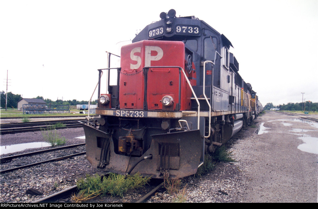 SP 9733 ready to go.